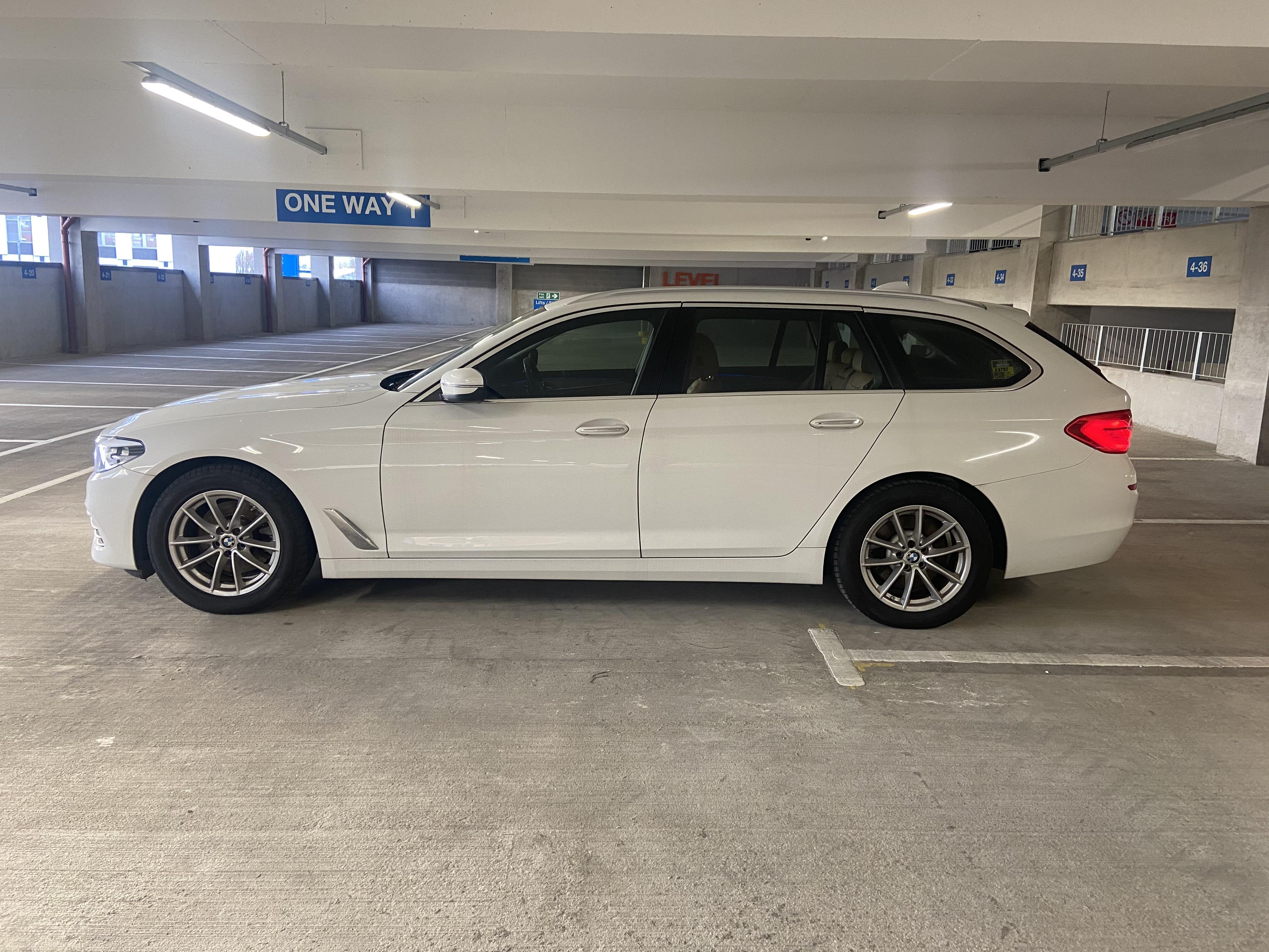 2018 BMW 520D SE Touring full